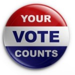 Asha Your Vote Counts Button