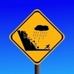 2968982-warning-risk-of-landslide-during-heavy-rain-sign
