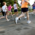 5K running of all ages