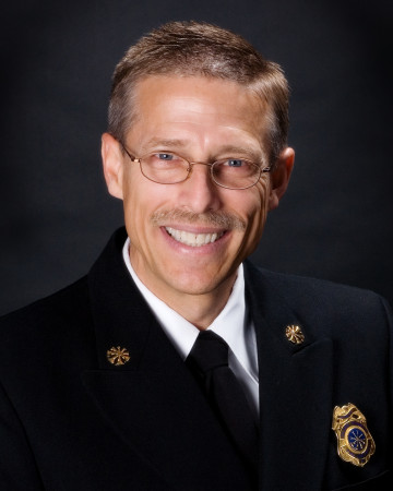 Assistant Fire Chief Donavon Mattern