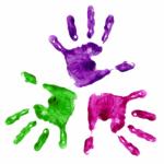 EOCF - ELC - handprints