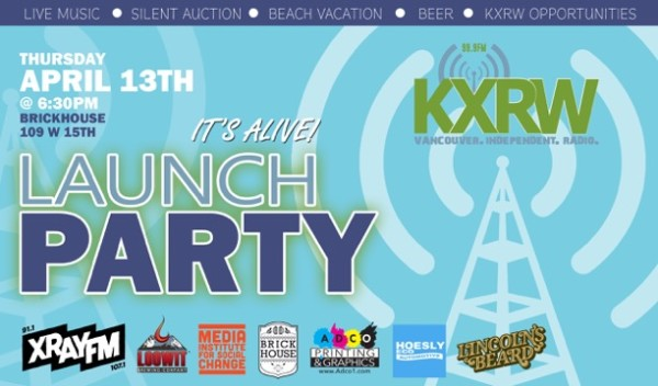 FLYER - KXRW Launch Party